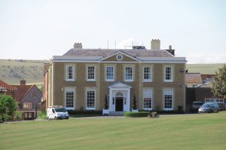 Ovingdean Hall School, where Daisy Noakes worked as a maid