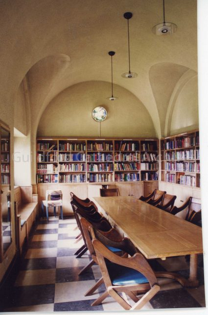 Comper Roundel in Library
