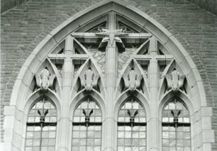 View of South Transept Window