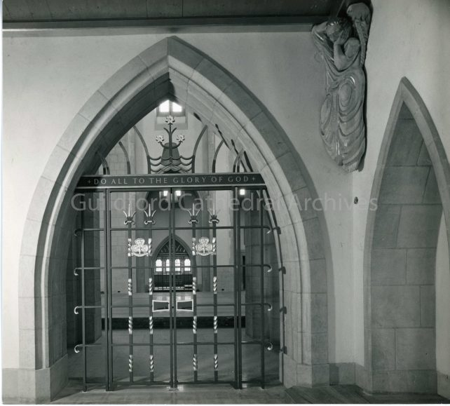 The Children's Chapel, the Girl Guide Gates
