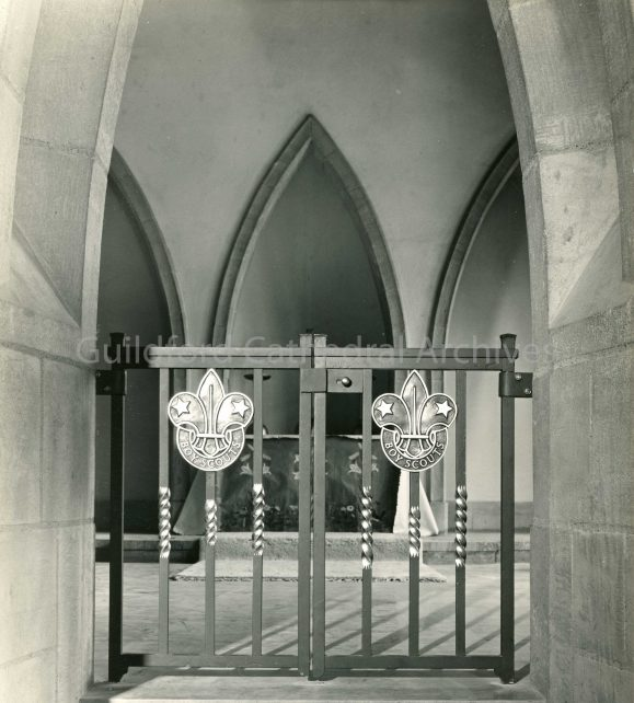 The Children's Chapel, The Boy Scout Gates