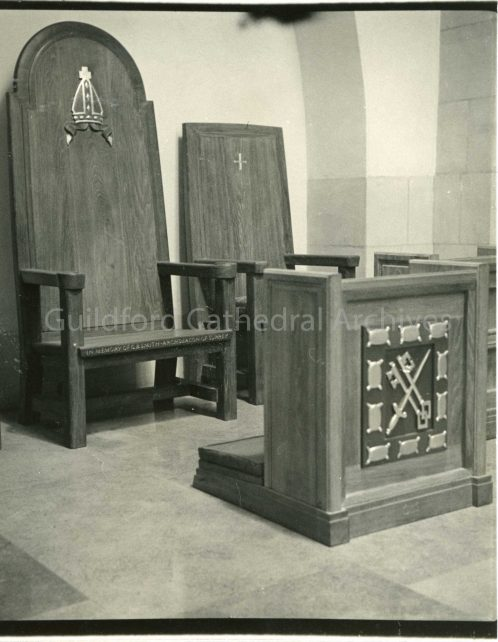 The Archdeacon Smith Memorial Chair