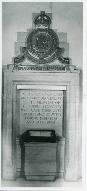 Surrey Yeomanry Memorial