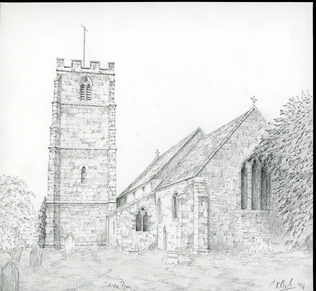 St. Lawrence, Canon Pyon, Herefordshire