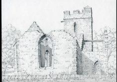 St John the Baptist, Old Church, Llanwarne, Herefordshire