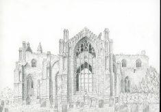 Melrose Abbey, Borders