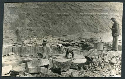 Clipsham Quarry | Guildford Cathedral Archives