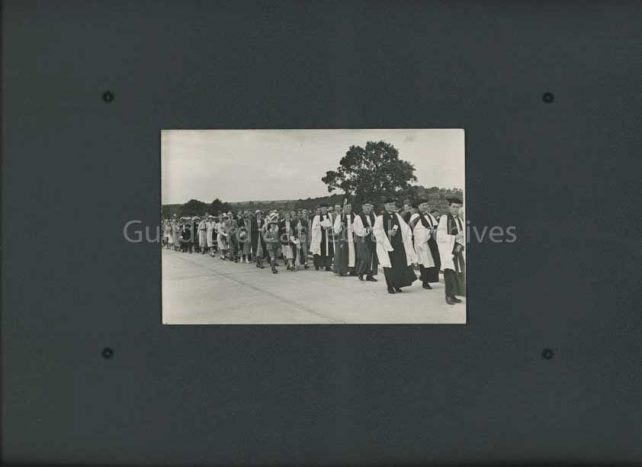 Clergy procession