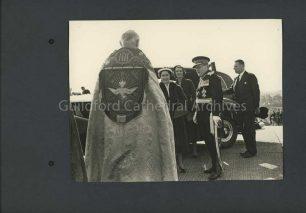 Arrival of Princess Margaret