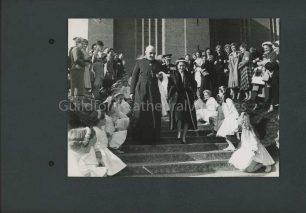 Princess Margaret's departure