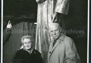 Donors of the Angel - Mr and Mrs W.H. Adgey-Edgar