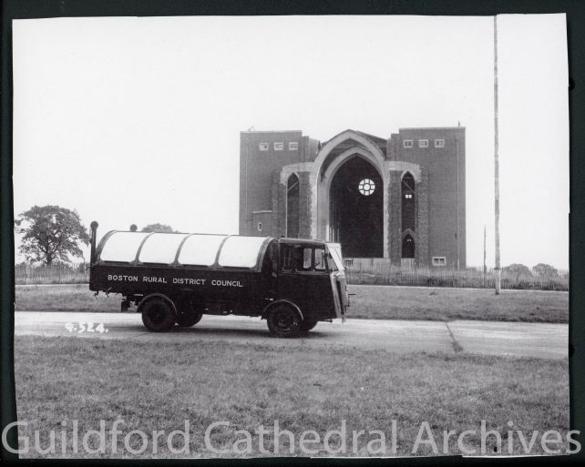 Cathedral in wartime