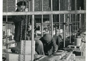 Building the south wall