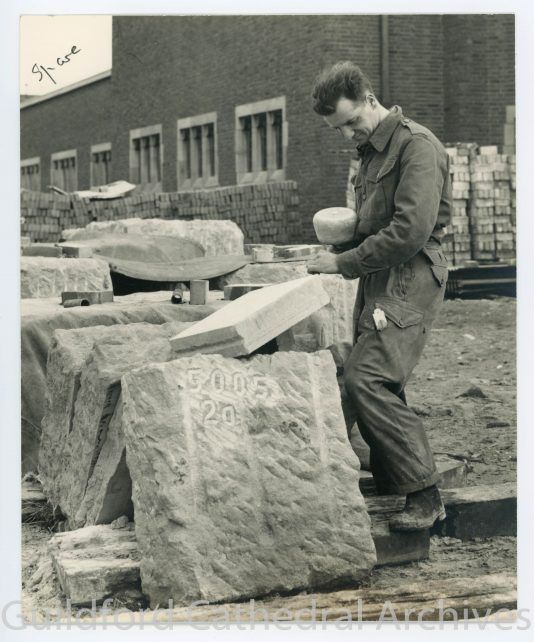 Dressing stone for the Nave