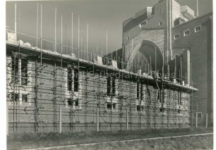 South wall of the Nave