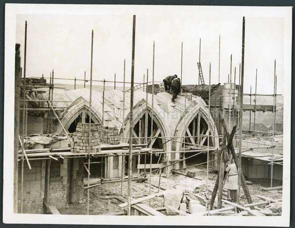 Building south Porch