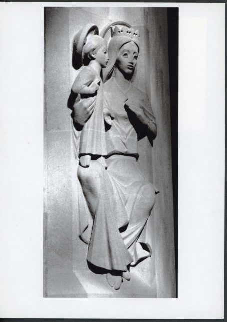 Madonna and Child by John Cobbett, side view