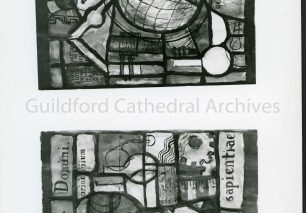 Schoolmaster and Woman Teacher's Chronicle - Competition for a Window Design