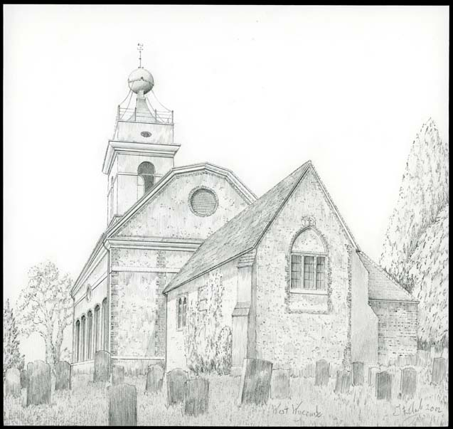 St. Lawrence, West Wycombe, Buckinghamshire