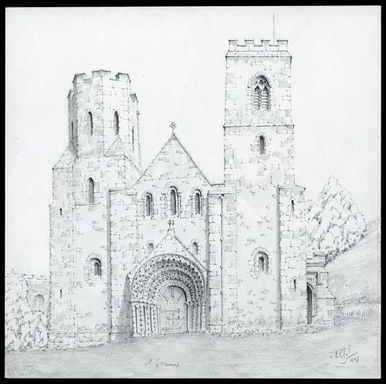 St. Germans Priory, St. Germans, Cornwall