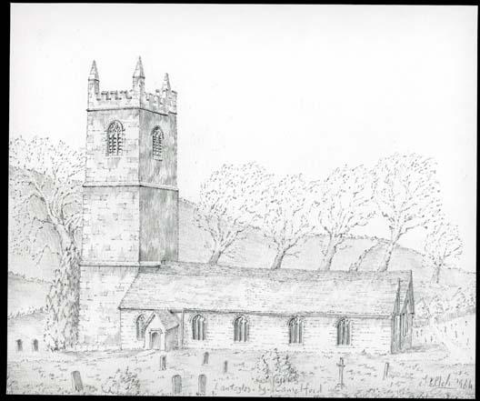 St. Julitta, Lanteglos-by-Camelford, Cornwall