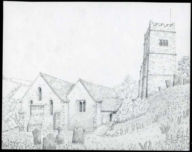 St. Tallanus, Talland, Cornwall