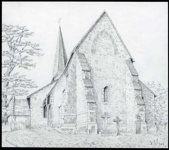 St. Nicholas, Compton, Surrey