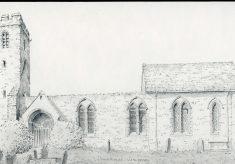 St. Michael church, Llanvihangel Crucorney. Monmouthshire