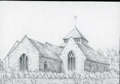 St Bridget church, Skenfrith. Monmouthshire