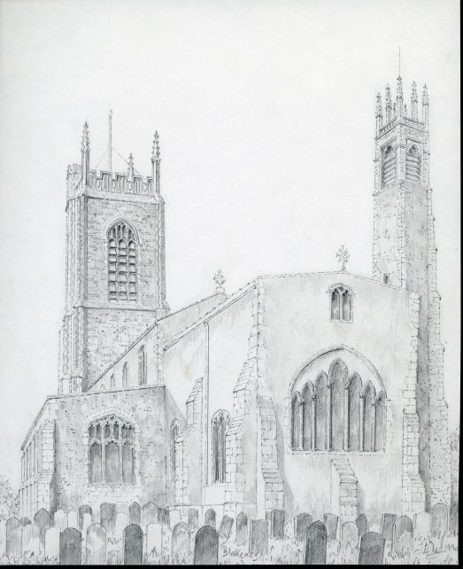 St Nicholas church, Blakeney. Norfolk.