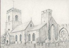 All Saints church, Weybourne. Norfolk