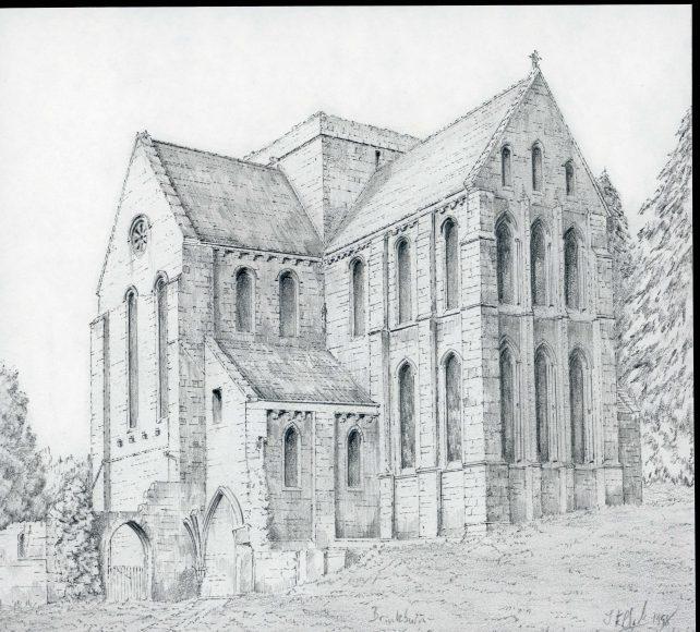 Brinkburn Priory, Northumberland.
