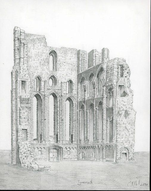 Tynemouth Priory, Northumberland.