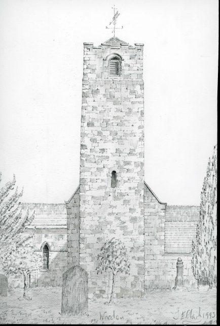 St. Michael, Warden. Northumberland.