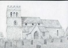 St. Mary Magdalene church, Tixover. Rutland.