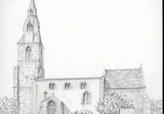 St. Botolph church, Wardley. Rutland.