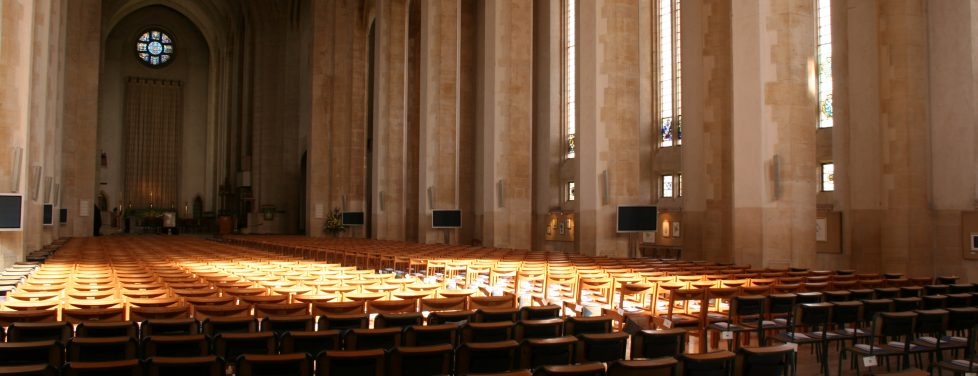 Interior Nave of Guildford Cathedral