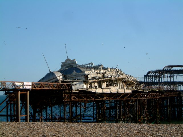 west pier   Photo by John Smith