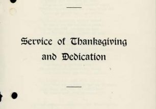 Triumph Owners Motorcycle Club Service of Thanksgiving and Dedication.