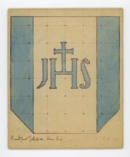 Christogram JHS cross